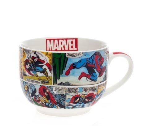 Caneca Bowl Sopa HQ´s Marvel