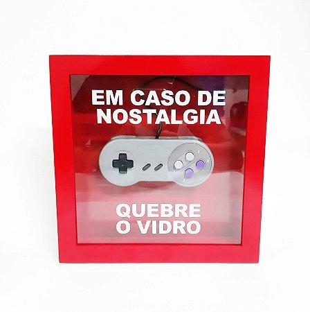 Emergency Box - Nostalgia SNES - vermelho