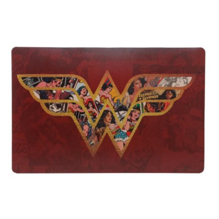 Lugar / Jogo Americano Plástico Wonder Woman Unidade