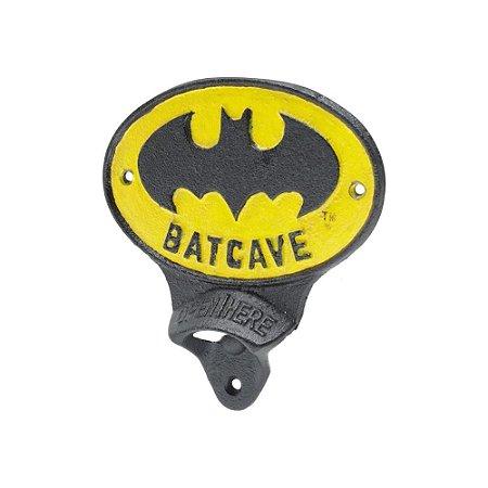 Abridor de Garrafas em Metal - DC Batman