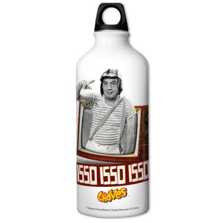 Squeeze de Alumínio 600ml Chaves - Isso, Isso, Isso!