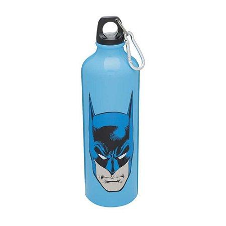 Squeeze de Alumínio 750ml Batman Face Azul - DC Comics