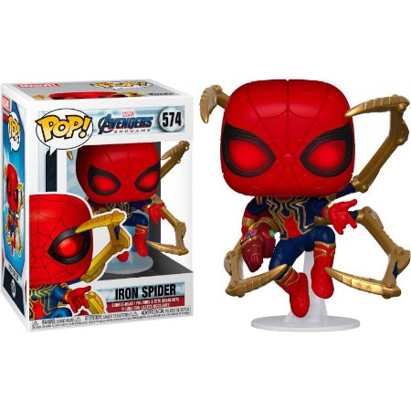 POP! Funko Marvel Infinity War Iron Spider # 574