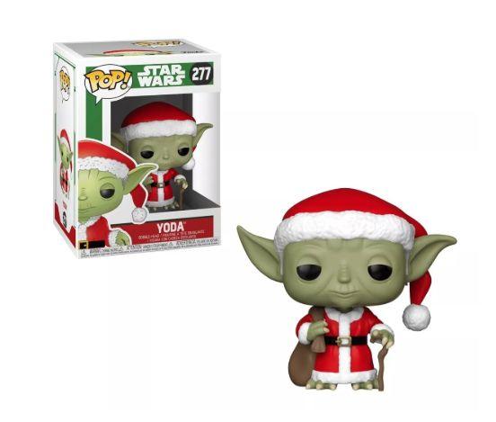POP! Funko Star Wars Holiday Yoda # 277