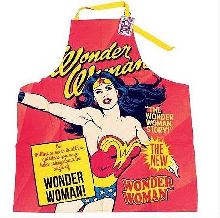 Avental Mulher Maravilha - Wonder Woman - DC Comics