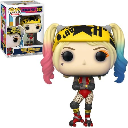 POP! Funko Aves de Rapina: Harley Quinn Roller Derby # 307