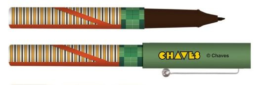 Caneta Esferográfica Turma do Chaves - Chaves