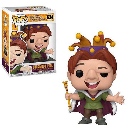 POP! Funko Disney Quasimodo Fool / Corcunda de Notre Dame # 634