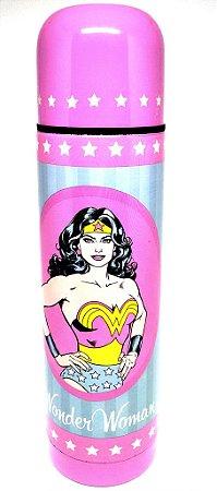 Garrafa Térmica 500ml Mulher Maravilha - DC Comics