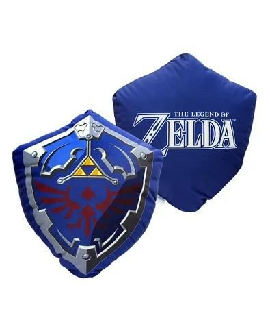 Almofada The Legend of Zelda Formato Escudo Link