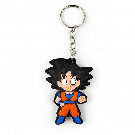 Chaveiro emborrachado Goku 2