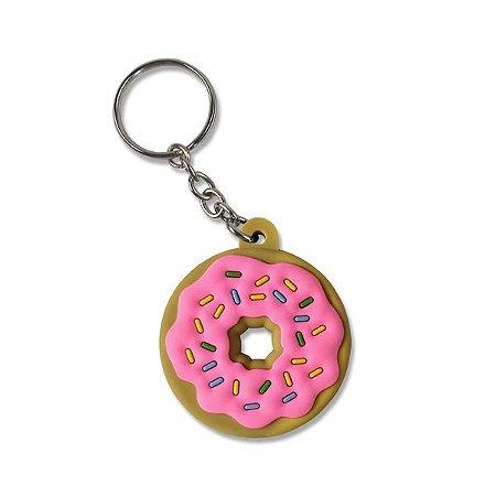 Chaveiro Emborrachado Rosquinha Donuts