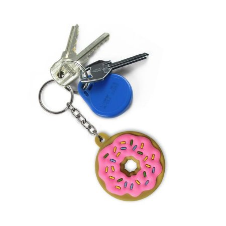 Chaveiro Emborrachado Donuts