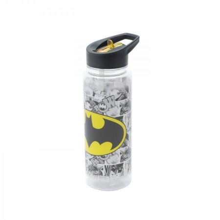 Squeeze Garrafa Plástica 600ml Batman - DC Comics