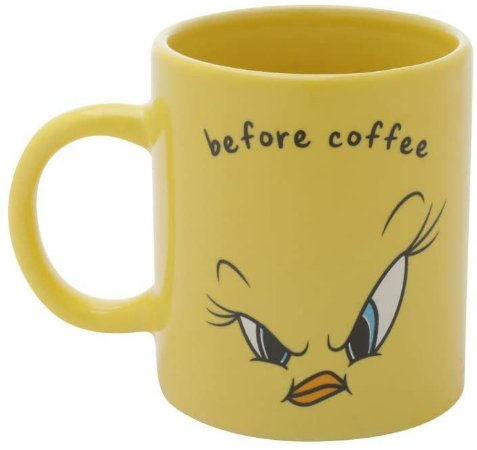 Mini Caneca Porcelana 140ml Looney Tunes - Piu Piu