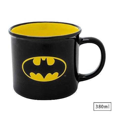 Caneca Porcelana 380ml Batman Logo  - DC Comics