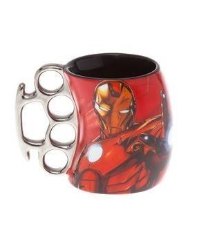 Caneca Soco Inglês Homem de Ferro - Marvel