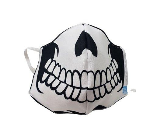 Máscara de Proteção em Tecido Reutilizável - Caveira M