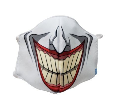 Máscara de Proteção em Tecido Reutilizável - Palhaço G
