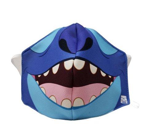 Máscara de Proteção em Tecido Reutilizável - Stitch P