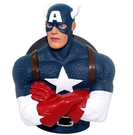 Cofre Busto Capitão America - Marvel