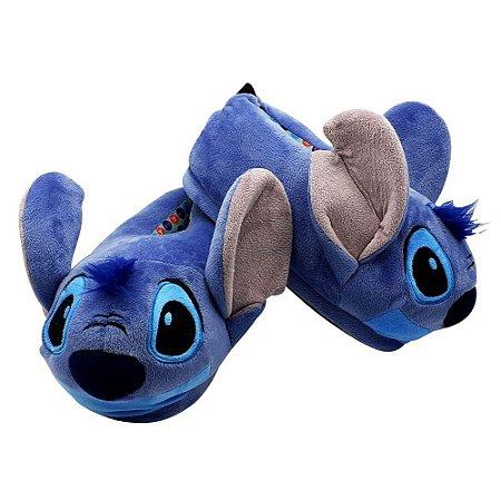 Pantufa Unissex Disney Stitch - Tamanho G (39/40/41)