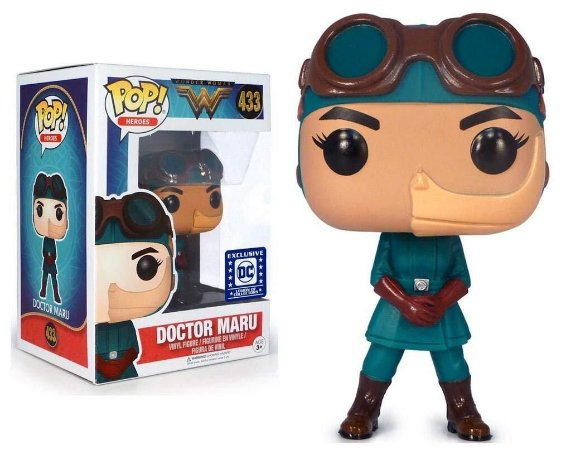 POP! Funko DC Comics: Wonder Woman  movie  - Doctor Maru # 433
