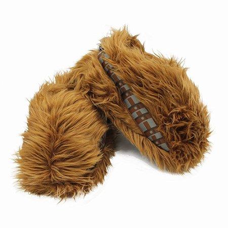 Pantufa Unissex Star Wars Chewbacca - Tamanho G (39/40/41)