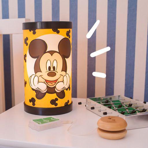 Luminária de Mesa Bivolt Mickey - Disney