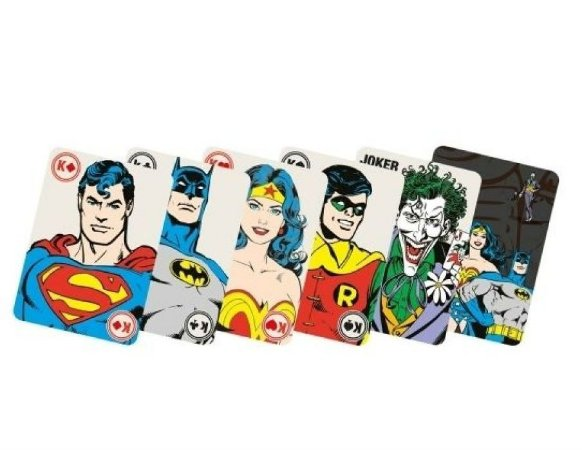 Baralho DC Comics Heróis e Vilões