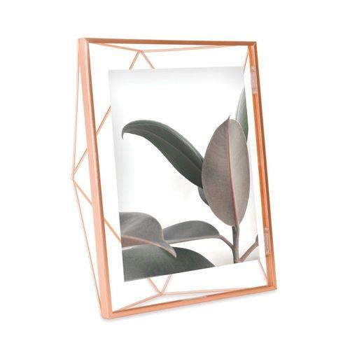 Porta Retrato para Foto 10x15cm Prisma Cobre  - Umbra