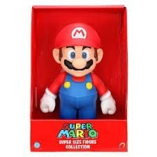 Boneco em Vinil Mario 20Cm - Super size action figure collection