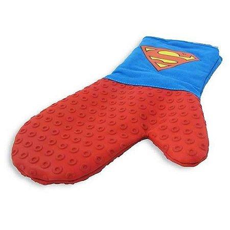 Luva Térmica Algodão e Silicone Superman- Licenciado