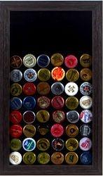 Quadro Decorativo Porta Tampinhas de Cerveja - Colecionador
