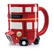 Caneca de Cerâmica Ônibus Vermelho de Londres