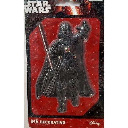 Imã Decorativo Relevo Star Wars - Darth Vader
