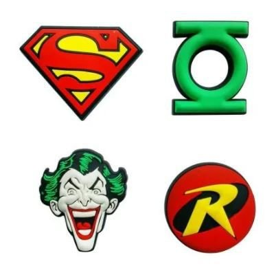 Conjunto 4 Imãs Decorativos DC Comics - Icones 2