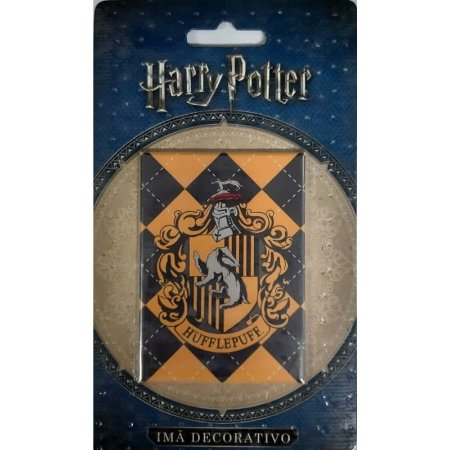 Imã Decorativo Foto Harry Potter - Brasão Lufa-Lufa
