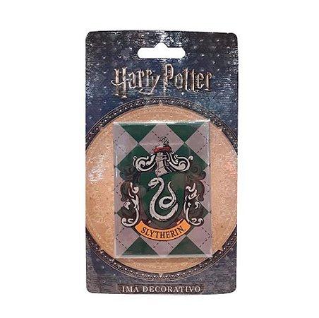 Imã Decorativo Foto Harry Potter - Brasão Sonserina