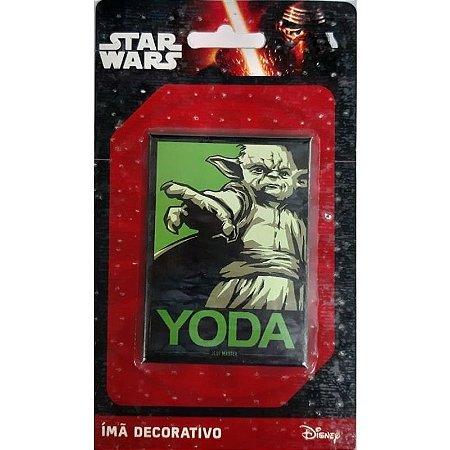 Imã Decorativo Foto Star Wars - Yoda