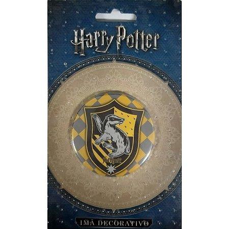 Imã Decorativo Bottom Harry Potter - Brasão Lufa-Lufa
