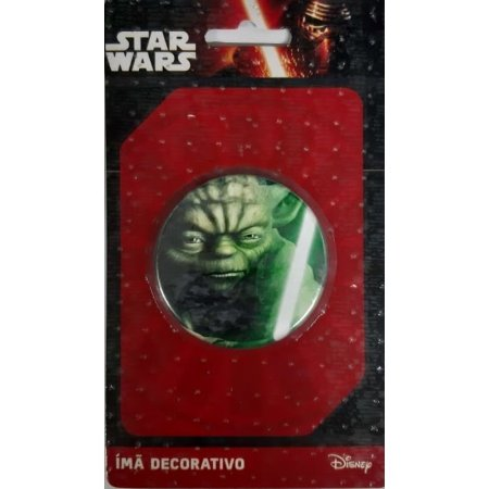 Imã Decorativo Bottom Star Wars - Mestre Yoda