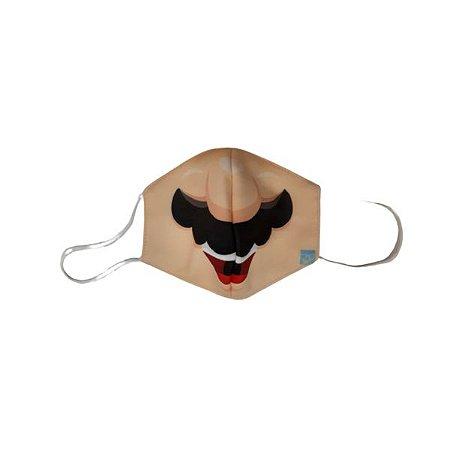 Máscara de Proteção em Tecido Reutilizável - Mario M