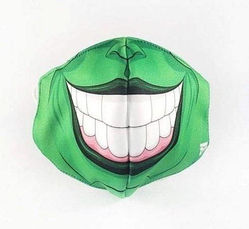 Máscara de Proteção em Tecido Reutilizável - Máscara Verde M