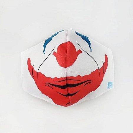 Máscara de Proteção em Tecido Reutilizável - Coringa Novo P