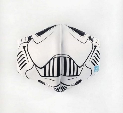 Máscara de Proteção em Tecido Reutilizável - Trooper M
