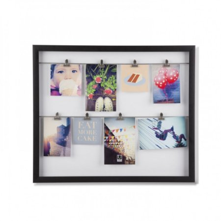 Quadro Porta Retrato Clipline - Varal de Fotos