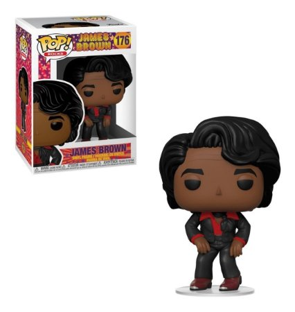 Funko POP! Rocks: James Brown # 176