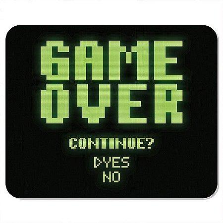 Mousepad Neoprene Game Over