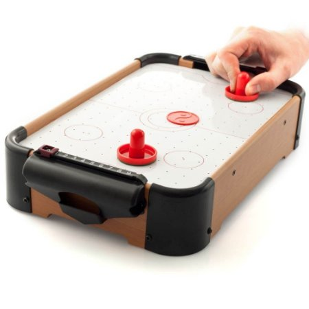 Mini Jogo Mesa Air Hockey - 51x31x10cm